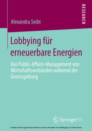 Lobbying für erneuerbare Energien