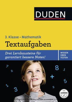 Wissen - Üben - Testen: Mathematik - Textaufgaben 3. Klasse
