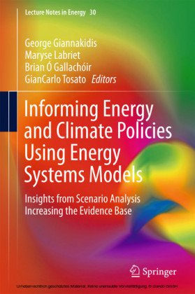 Informing Energy and Climate Policies Using Energy Systems Models