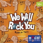 We will rock you (Kartenspiel) Cover