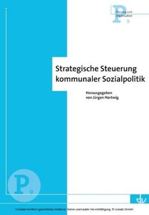 Strategische Steuerung kommunaler Sozialpolitik