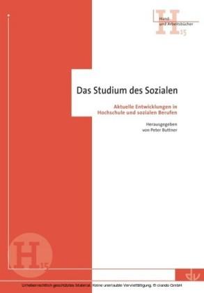 Das Studium des Sozialen