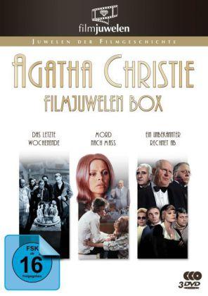Agatha Christie Filmjuwelen Box, 3 DVD
