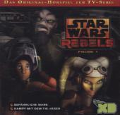 Star Wars Rebels, 2 Audio-CD Cover