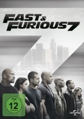 Fast & Furious 7, 1 DVD Cover