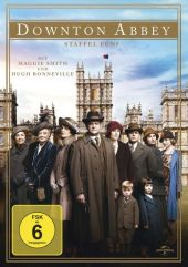 Downton Abbey, 4 DVDs Cover
