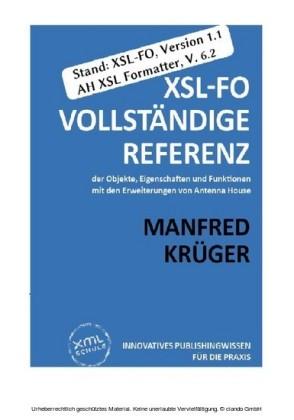 XSL-FO: Vollständige Referenz (2. Auflage)