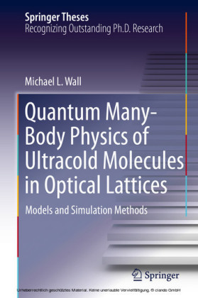 Quantum Many-Body Physics of Ultracold Molecules in Optical Lattices