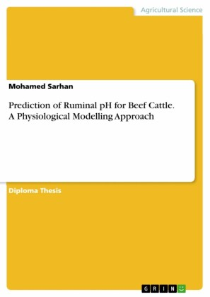 Prediction of Ruminal pH for Beef Cattle. A Physiological Modelling Approach