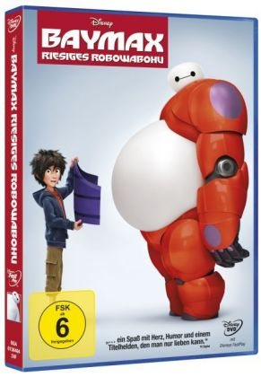 Baymax - Riesiges Robowabohu, DVD