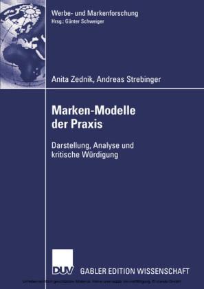 Marken-Modelle der Praxis