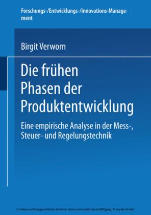 Die frühen Phasen der Produktentwicklung