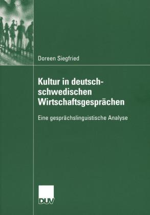 Kultur in deutsch-schwedischen Wirtschaftsgesprächen