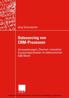Outsourcing von CRM-Prozessen
