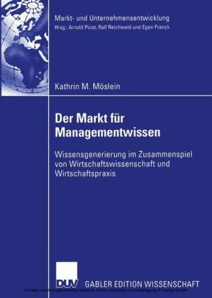 Der Markt für Managementwissen