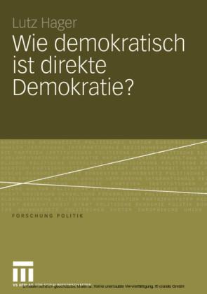 Wie demokratisch ist direkte Demokratie?