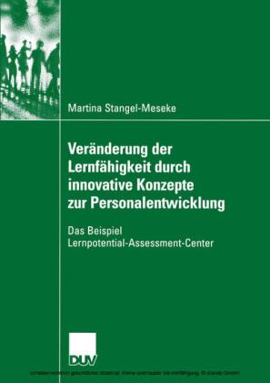 Veränderung der Lernfähigkeit durch innovative Konzepte zur Personalentwicklung