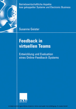Feedback in virtuellen Teams