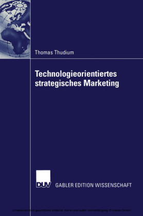 Technologieorientiertes strategisches Marketing