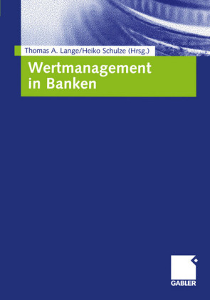 Wertmanagement in Banken
