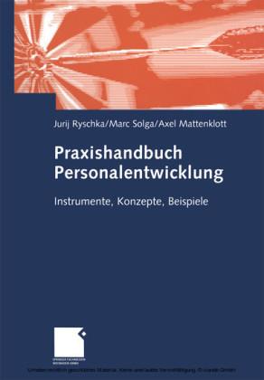 Praxishandbuch Personalentwicklung