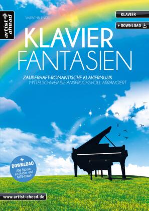 Klavier Fantasien, m. Audio-CD