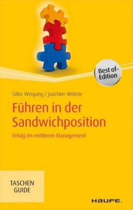 Führen in der Sandwichposition