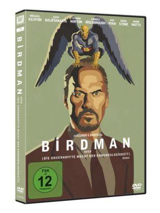 Birdman oder (die unverhoffte Macht der Ahnungslosigkeit), 1 DVD