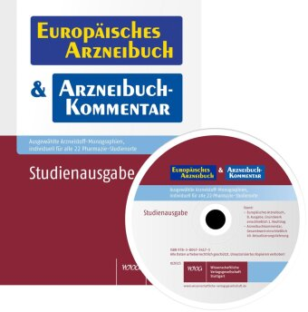 Europäisches Arzneibuch & Arzneibuch-Kommentar - Studienausgabe