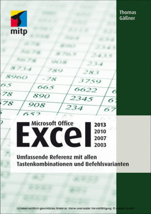 Microsoft Office Excel 2013, 2010, 2007, 2003