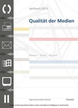 JQM Jahrbuch 2013 Qualität der Medien