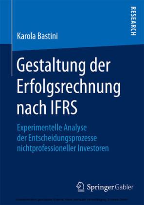 Gestaltung der Erfolgsrechnung nach IFRS