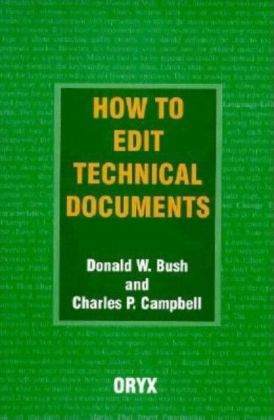 How to Edit Technical Documents