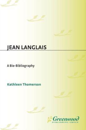 Jean Langlais: A Bio-Bibliography