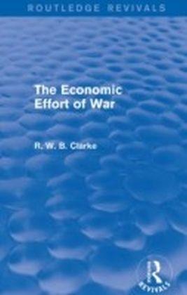 Economic Effort of War (Routledge Revivals)