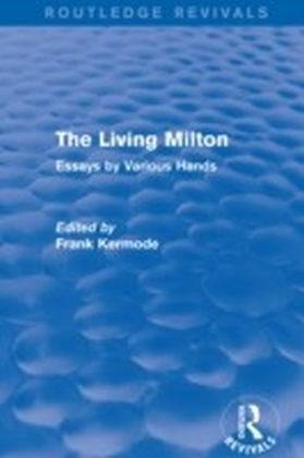 Living Milton (Routledge Revivals)