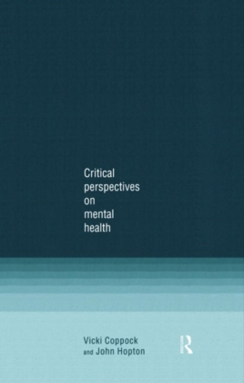 Critical Perspectives on Mental Health