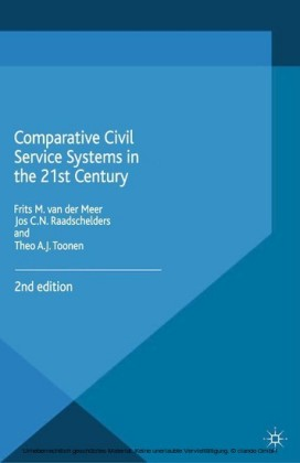 Comparative Civil Service Systems in the 21st Century