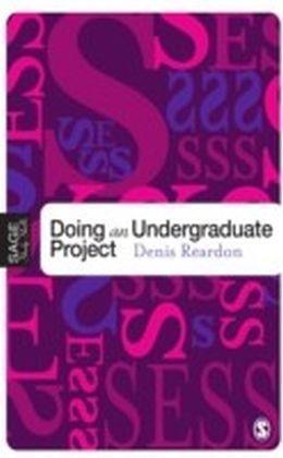 Doing Your Undergraduate Project