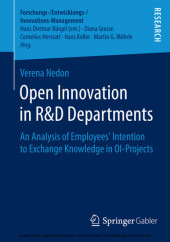 Open Innovation in R&D Departments
