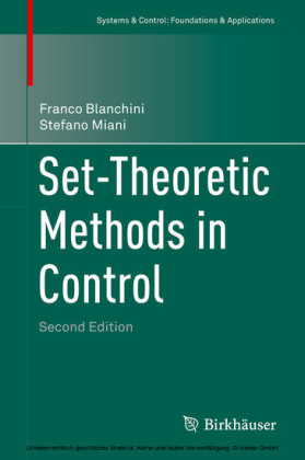 Set-Theoretic Methods in Control