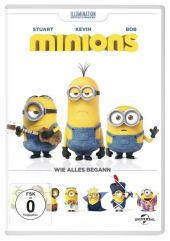 Minions, 1 DVD Cover