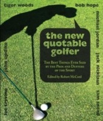 New Quotable Golfer