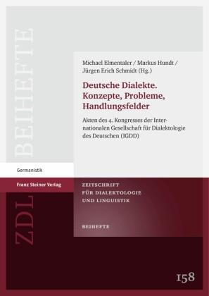 Deutsche Dialekte. Konzepte, Probleme, Handlungsfelder