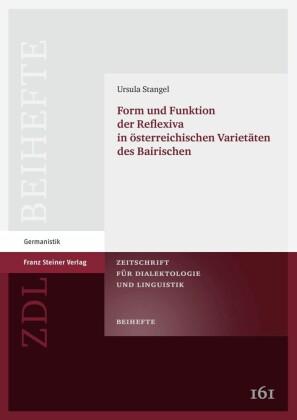 Form und Funktion der Reflexiva in österreichischen Varietäten des Bairischen
