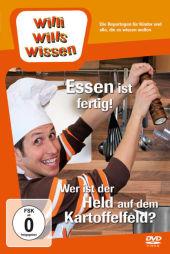 Willi will's wissen - Essen ist fertig! / Wer ist der Held auf dem Kartoffelfeld?, 1 DVD Cover