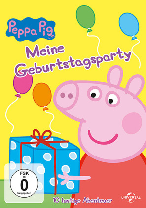 Peppa Pig - Meine Geburtstagsparty, 1 DVD