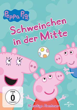 Peppa Pig - Schweinchen in der Mitte, 1 DVD