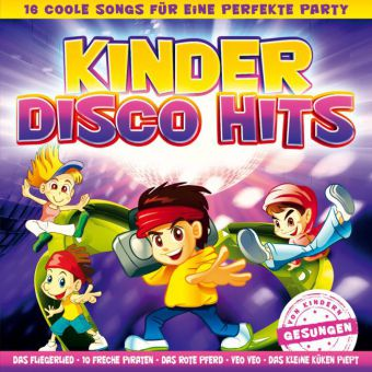 Kinder Disco Hits - 16 coole Songs, 1 Audio-CD