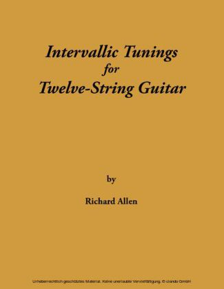 Intervallic Tunings for Twelve-String Guitar